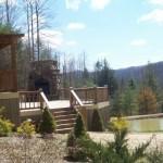 Slodge back deck pond ws