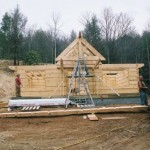 installing the gable