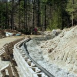 keystone wall drainage